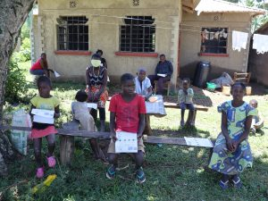 The Water Project:  Children Attending The Training