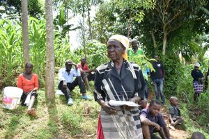 The Water Project:  A Community Member Addressing The Group