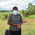 The Water Project: Mungaha B Community, Maria Spring -  The Facilitator Demonstrating Handwashing