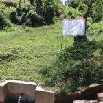 The Water Project: Isembe Community, Amwayi Spring -  The Chart At The Water Point