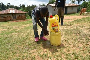 The Water Project:  Clean Hands To Keep The Disease Away