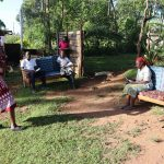 The Water Project: Koitabut Community, Henry Kichwen Spring -  Ongoing Covid Sensitization