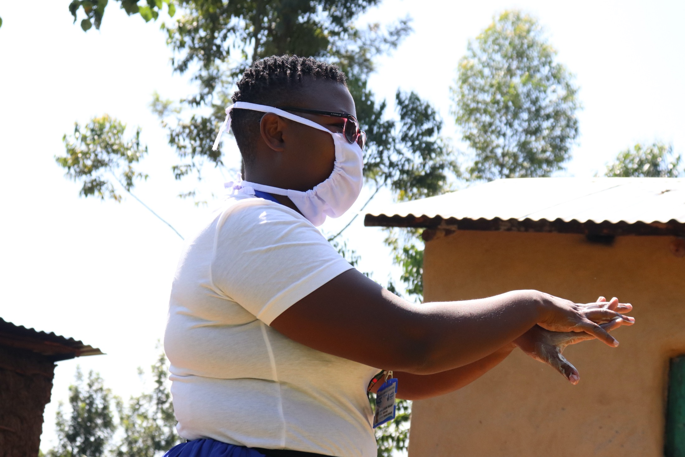 The Water Project : covid19-kenya19085-handwashing-time