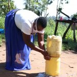 The Water Project: Bukhakunga Community, Khayati Spring -  Improvised Handwashing Point In The Community
