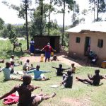 The Water Project: Bukhakunga Community, Khayati Spring -  Social Distancing At The Training