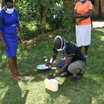 The Water Project: Mukoko Community, Mukoko Spring -  Making Of A Simple Handwashing Station