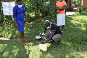 The Water Project:  Making Of A Simple Handwashing Station
