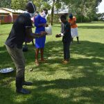 The Water Project: Mukoko Community, Mukoko Spring -  The Handwashing Exercise At Mukoko Spring