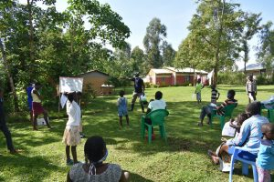 The Water Project:  Training In Progress
