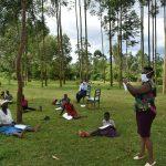 The Water Project: Sichinji Community, Makhatse Spring -  Mask Tutorial