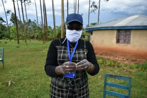 The Water Project:  Proper Handwashing Demonstrations With Soap