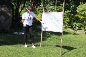 The Water Project:  Facilitator Explains The Cautions Reminder Chart