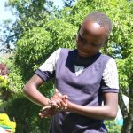 The Water Project: Bukhakunga Community, Mukomari Spring -  Proper Handwashing Training