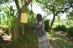 The Water Project:  Handwashing Point Installed In The Community