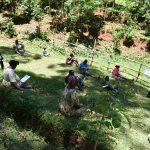 The Water Project: Wajumba Community, Wajumba Spring -  Social Distanced Participants