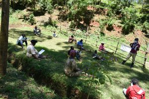 The Water Project:  Social Distanced Participants