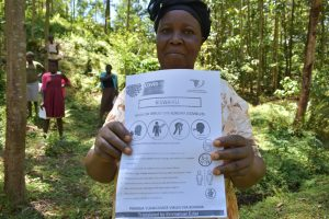 The Water Project:  Use Of Handouts At The Training