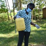 The Water Project: Musango Community, Mwichinga Spring -  Constructing A Leaky Tin