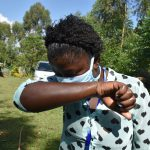 The Water Project: Musango Community, Mwichinga Spring -  Cough And Sneeze Into The Elbow