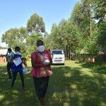 The Water Project: Musango Community, Mwichinga Spring -  Facilitators Arrive In Musango Community