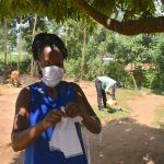 The Water Project: Musango Community, Mushikhulu Spring -  Mask Making At Home