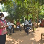 The Water Project: Musango Community, Mushikhulu Spring -  Ongoing Covid Sensitization