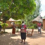 The Water Project: Musango Community, Mushikhulu Spring -  Social Distancing