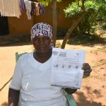 The Water Project: Musango Community, Mushikhulu Spring -  Use Of Handouts At The Training