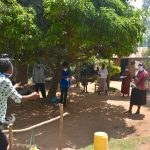 The Water Project: Musango Community, Mushikhulu Spring -  Takes Participants Through Corona Virus Prevention Tips