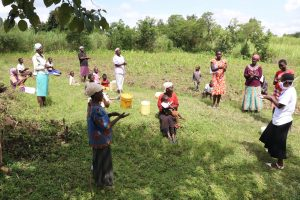 The Water Project:  Handwashing Was A Communual Exercise