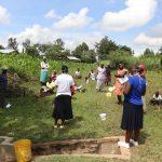 The Water Project: Mukhuyu Community, Kwawanzala Spring -  Mrs Amulavu Leading The Training Session