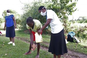 The Water Project:  Handwashing Demonstration Exercise