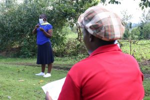The Water Project:  Trainer Janet Leads The Session