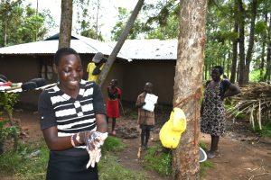 The Water Project:  A Girl Showcasing Her Handwashing Skills