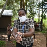 The Water Project: Burachu B Community, Namukhuvichi Spring -  Thorough Cleaning Is Essential In Kicking Out Corona
