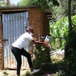The Water Project: Imbinga Community, Arunga Spring -  Installed Leaky Tin Next To A Bathroom In The Community