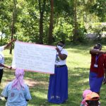 The Water Project: Imbinga Community, Arunga Spring -  Use Of Reminder Charts At The Training