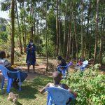 The Water Project: Maondo Community, Ambundo Spring -  Ms Shigali Leading A Training Session At Ambundo Spring