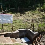 The Water Project: Maondo Community, Ambundo Spring -  The Reminder Chart At The Water Point