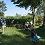 The Water Project: Malimali Community, Shamala Spring -  Cough Or Sneeze Into Elbow