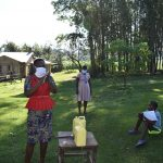 The Water Project: Malimali Community, Shamala Spring -  Handwashing With Soap And Water Is Essential To Keep Virus Away