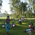 The Water Project: Malimali Community, Shamala Spring -  Karen Leading The Training