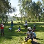 The Water Project: Malimali Community, Shamala Spring -  Social Distancing At The Training