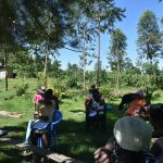 The Water Project: Imbinga Community, Imbinga Spring -  Coughing And Sneezing Into Elbow Reduces Virus Spread