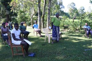 The Water Project:  An Elderly Woman Reacting To The Training