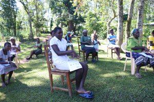 The Water Project:  Community Members Following Ten Steps Of Handwashing