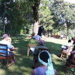 The Water Project: Buyangu Community, Mukhola Spring -  Social Distancing At The Training