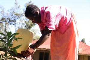 The Water Project:  Washing Hqnds At The Newly Installed Handwashing Point