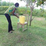 The Water Project: Emurumba Community, Makokha Spring -  Handwashing Training