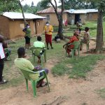 The Water Project: Emurumba Community, Makokha Spring -  Participants Social Distanced
